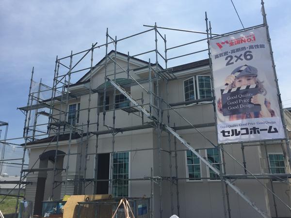 建築中【北斗市追分】