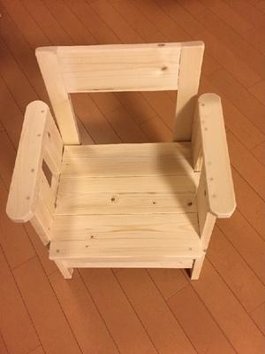 試せない椅子。