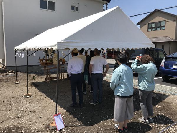七重浜 地鎮祭