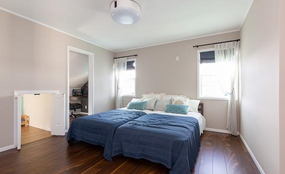 モデルハウス 寝室・洋室・書斎をご紹介