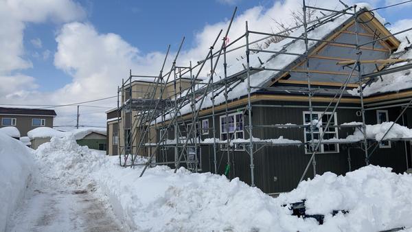 八雲町もうすぐ完成 オープンハウス!