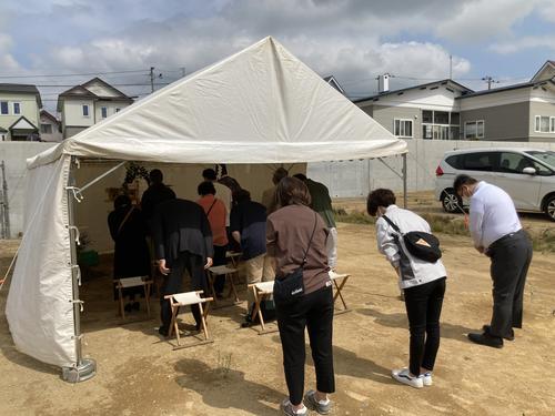 ブロッサム日吉 分譲地 区画⑦着工!!